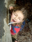 Kids love the sweet oudoor fun of sugaring season.